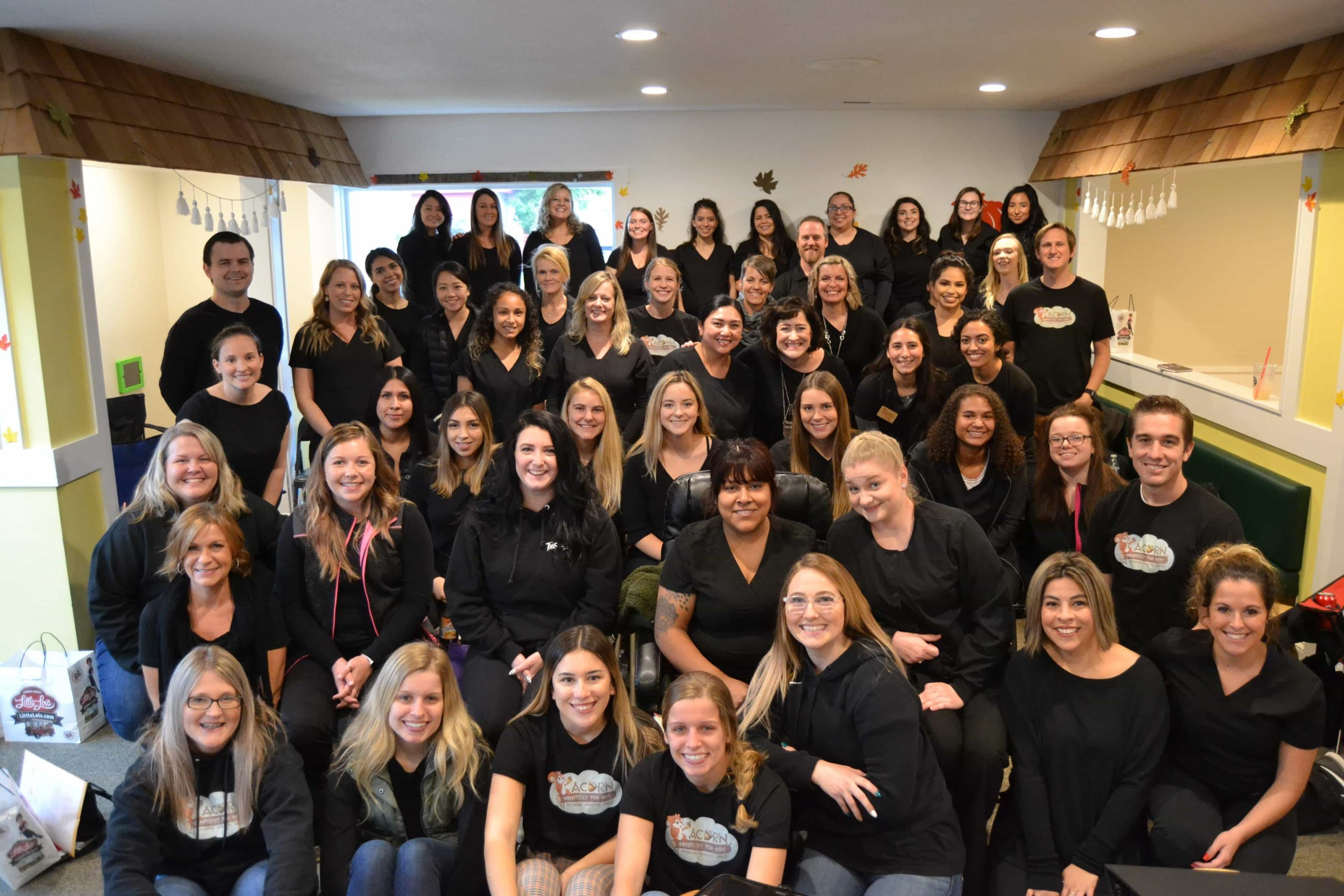 Acorn Dentistry for Kids Group Photo