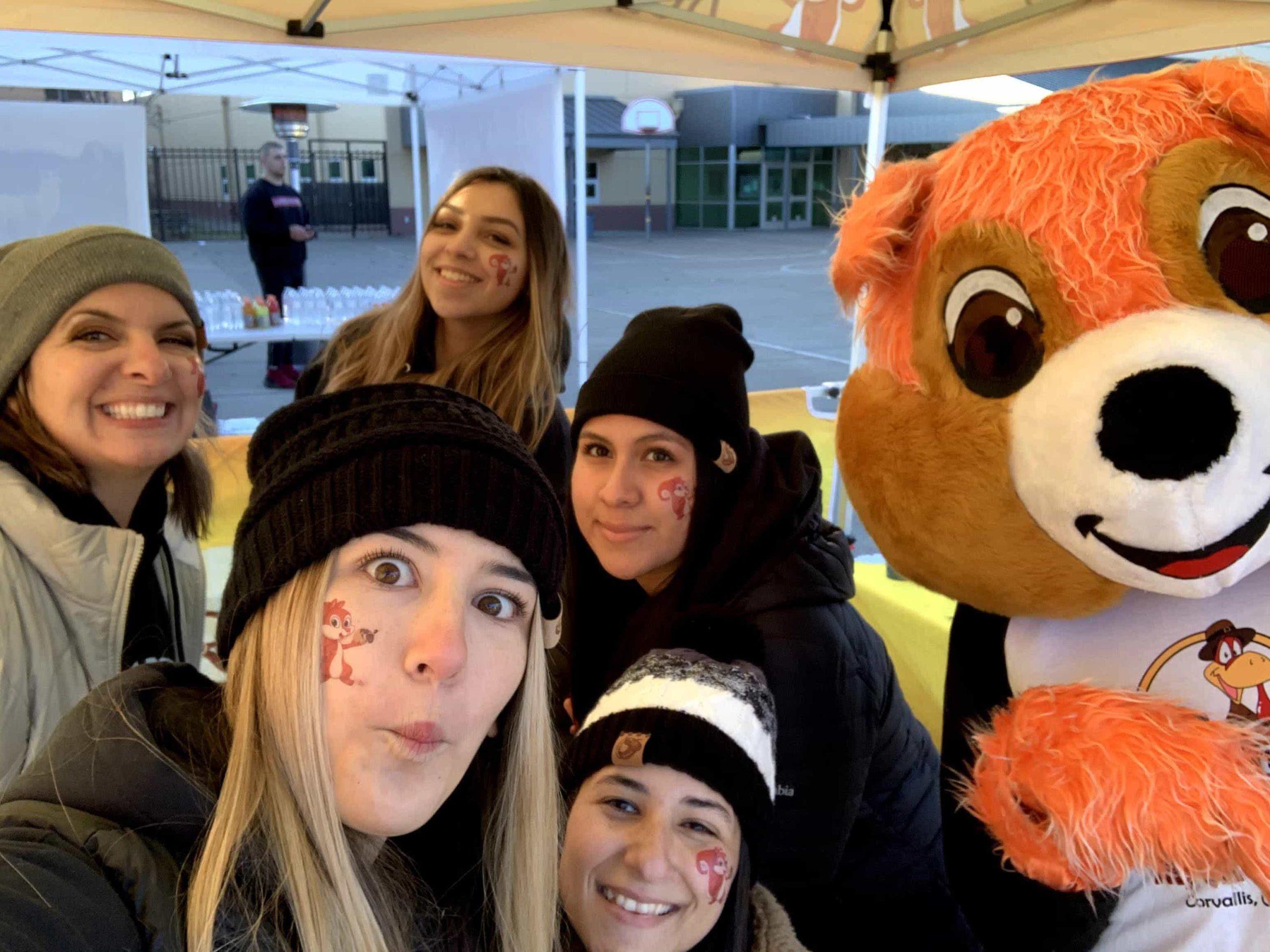community event selfie