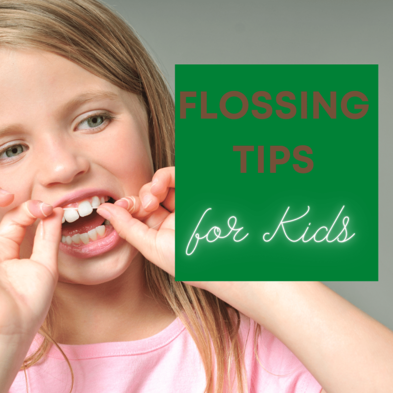Flossing Tips for Kids