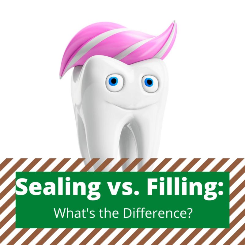Sealing vs. Filling cavities