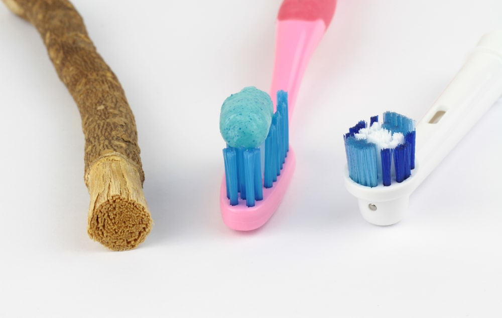 ancient vs modern toothbrushes